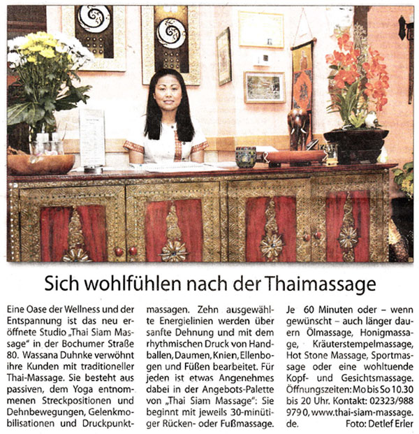 aktuelles aus dem massagestudio thai siam massage in herne. Black Bedroom Furniture Sets. Home Design Ideas